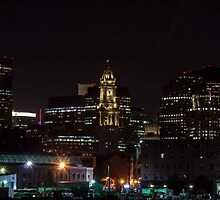 Marriott Custom House at Night by d1373l