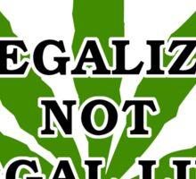 Legalize Marijuana Cannabis Sticker