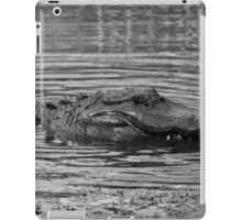 Gator In Black And White iPad Case/Skin