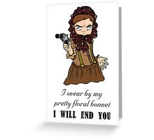 Our Mrs Reynolds Greeting Card