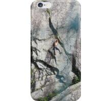 sempre piu' difficile.....arrampicarsi !!!! Monte rosa - iPhone Case/Skin