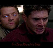 Castiel and Dean by super221Bwolf