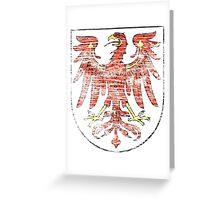 Brandenburg coat of arms Greeting Card