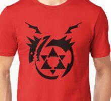 Black Homunculus Symbol Fullmetal Alchemist Unisex T-Shirt