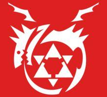 White Homunculus Symbol Fullmetal Alchemist by LeetZero