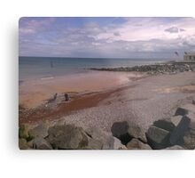 Sheringham Costal View  Metal Print