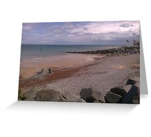 Sheringham Costal View  Greeting Card