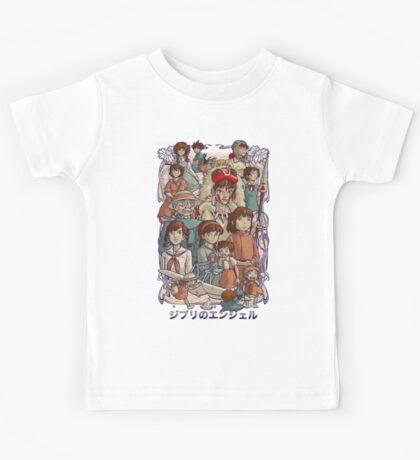 Ghibli's Angels Kids Tee