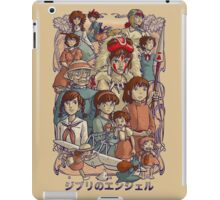 Ghibli's Angels iPad Case/Skin