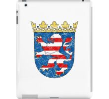 Coat of arms of Hesse iPad Case/Skin