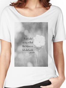 Jane Austen What We Do Women's Relaxed Fit T-Shirt