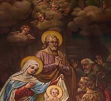 Sanctuary Mural, Visitation BVM, Philadelphia by PhillyChurches
