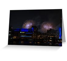 Blast of Color Greeting Card