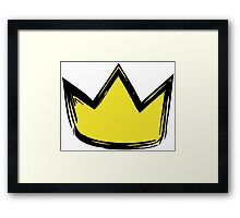 Where the Wild Things Are - Crown 1 Cutout Framed Print