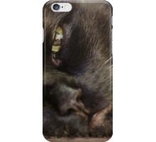 Black Witch Cat iPhone Case/Skin
