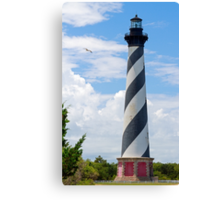 Lighthouse on Cape Hatteras Canvas Print