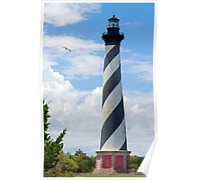 Lighthouse on Cape Hatteras Poster