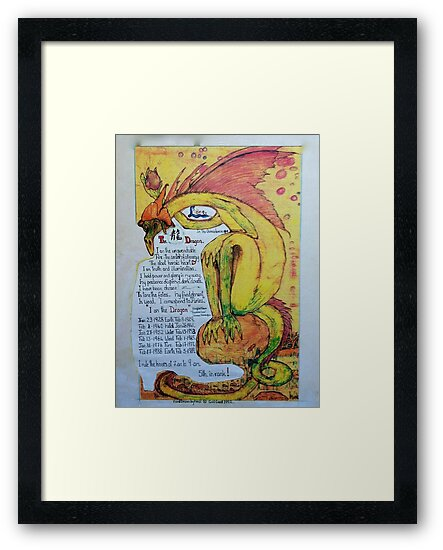 """""""Long"""" my chinese chart, of the year of the Dragon by MardiGCalero"""