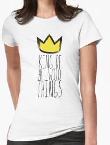 Where the Wild Things Are - King of All Wild Things 1 Cutout  Womens Fitted T-Shirt
