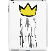 Where the Wild Things Are - King of All Wild Things 1 Cutout  iPad Case/Skin