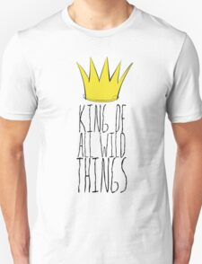 Where the Wild Things Are - King of All Wild Things 2 Cutout  Unisex T-Shirt