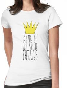 Where the Wild Things Are - King of All Wild Things 2 Cutout  Womens Fitted T-Shirt