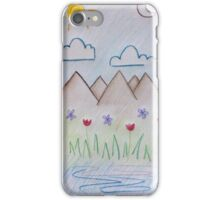 Layers - Mountains iPhone Case/Skin