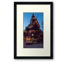 Viking House (EPCOT) Framed Print