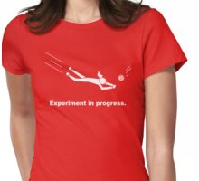 Experiment In Progress - Volleyball (Clothing) Womens Fitted T-Shirt