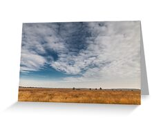 Wide skies over Holland Greeting Card