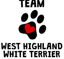 Team West Highland White Terrier by kwg2200