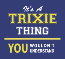 It's A TRIXY thing, you wouldn't understand !! by satro