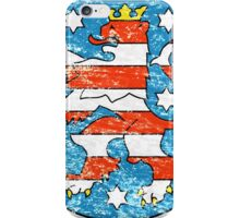 Coat of arms of Thuringia iPhone Case/Skin