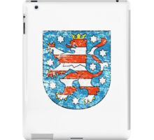 Coat of arms of Thuringia iPad Case/Skin