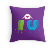 I loves U Throw Pillow