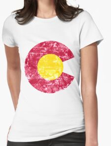 Colorado C  Womens Fitted T-Shirt