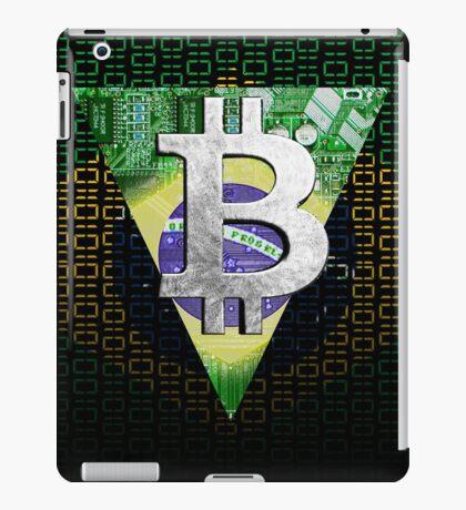 bitcoin Brazil iPad Case/Skin