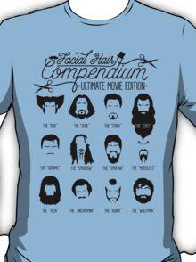 Movie Facial Hair Compendium T-Shirt