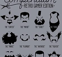 The Gamer Facial Hair Compendium by RetroReview