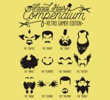 The Gamer Facial Hair Compendium Kids Clothes