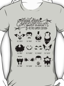 The Gamer Facial Hair Compendium T-Shirt