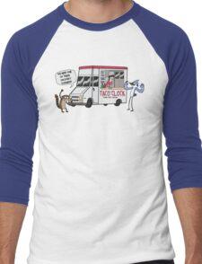 A Taco Truck On Every Corner!! Men's Baseball ¾ T-Shirt