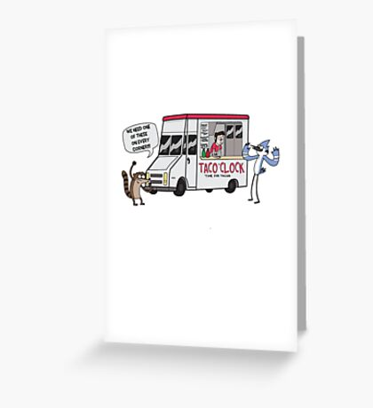 A Taco Truck On Every Corner!! Greeting Card
