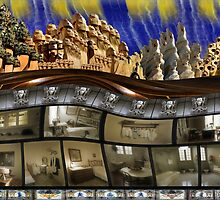Barcelona, Gaudi House by mister-john