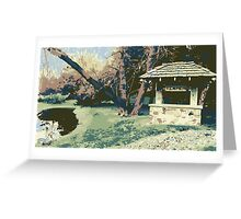 Timmer's Resort Sign  (Muted) Greeting Card