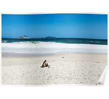Ipanema Beach Poster