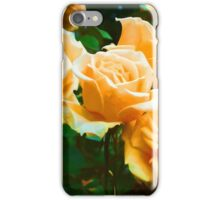 Light on Apricot Roses iPhone Case/Skin