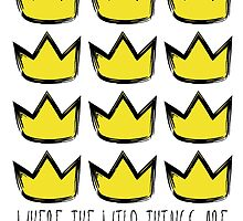 Where the Wild Things Are - Crowns Cutout by thebremanmuseum
