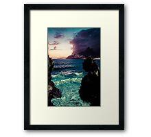 Arpoador Framed Print