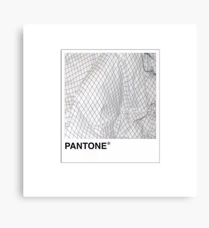 Pantone One Canvas Print